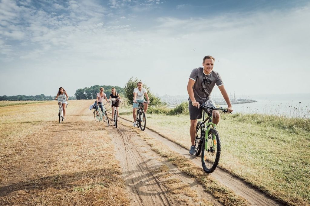 Exklusive Bike Tour + Führung im Gut Hasselburg